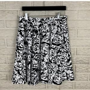 Adrienne Vittadini A-line Pleated Skirt